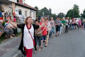 VI Noc Świętojańska w Tenczynku fot. Marian Lewicki